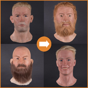 Silicone heads: special offers