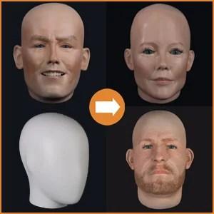 Heads fibreglass