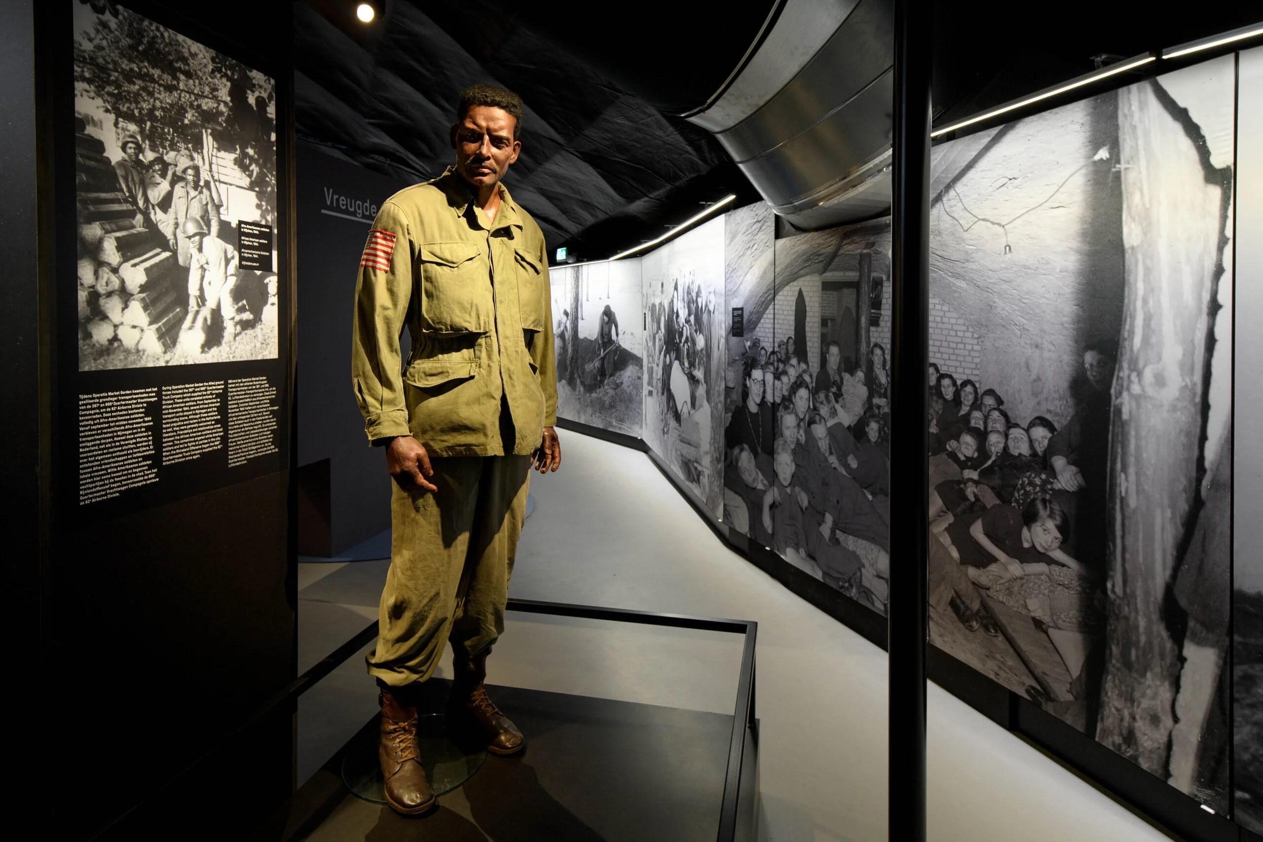 African American Soldier  | Vrijheidsmuseum