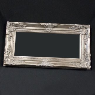 silver colored frame