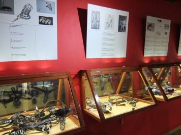 Sex Machines Museum cases and interpretation