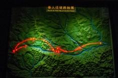 Baoji Bronzeware Museum migration map