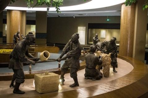 Baoji Bronzeware Museum sculptures
