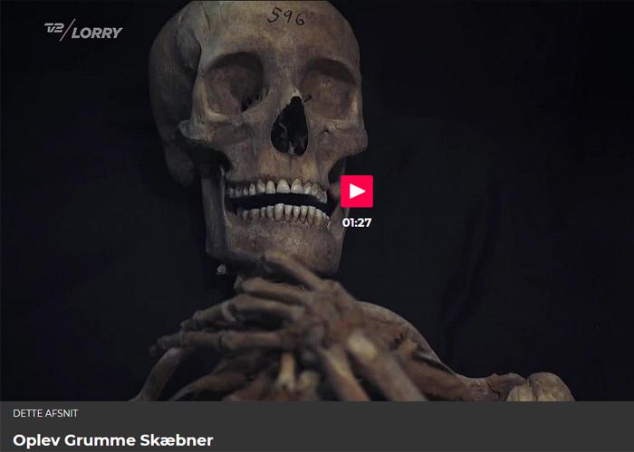Arkæologisk udstilling grumme skæbner