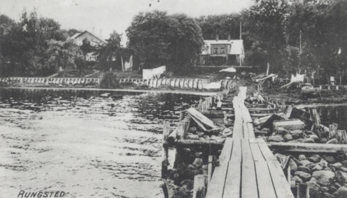 Rungsted Havn - Den gamle bro - Rungsted Strandvej