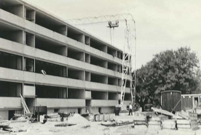 Der bygges ejerlejligheder på Kammerrådensvej 7-13 i 1967