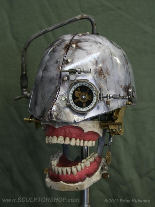 Dental Phantom Steampunk Skull Version II Museum Oddities