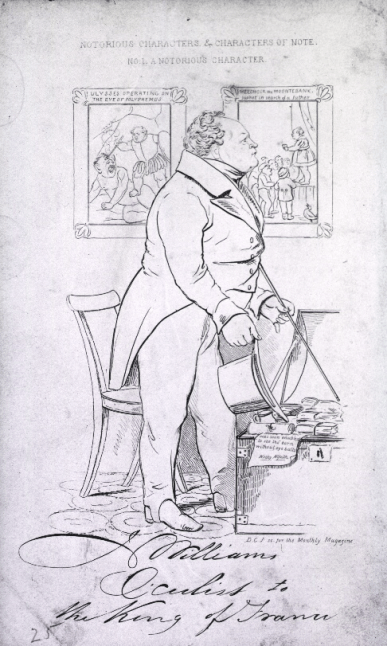 Caricature of John williams