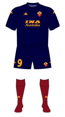 AS-Roma-2000-2001-terzera-third-maglia-red-socks-Hamburg-01