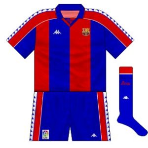 ddc9a4bec Barcelona  the Kappa years – Museum of Jerseys