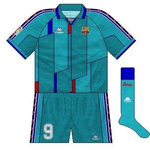 premium selection 3d5b7 10c08 Barcelona: the Kappa years – Museum of Jerseys