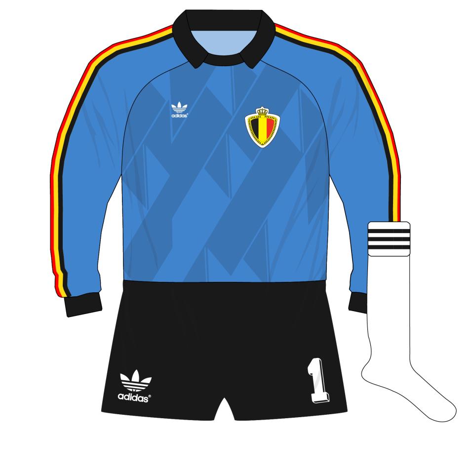 4e6cc15a6 adidas-belgium-blue-goalkeeper-shirt-jersey-1988-preudhomme – Museum ...