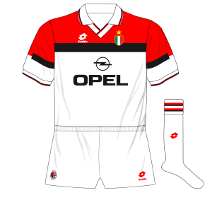 AC-Milan-1994-1995-white-away-kit-shirt-Opel-Lotto