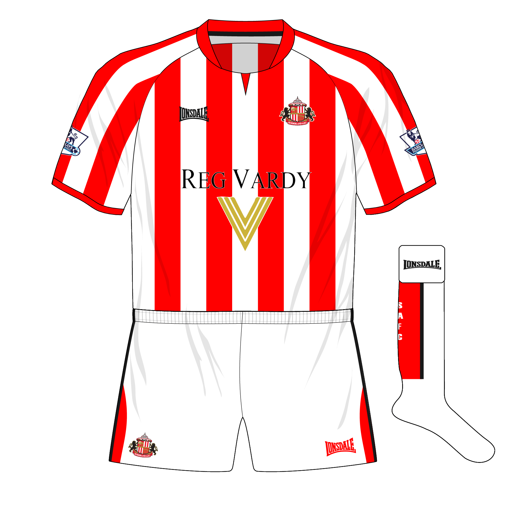 buy popular 5d67c f29fa Midweek Mashup – Sunderland, 2005 – Museum of Jerseys
