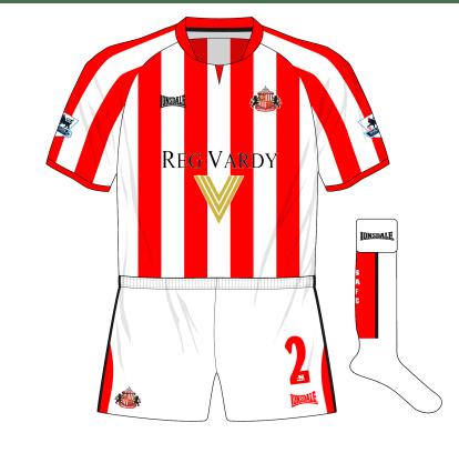 Sunderland-Lonsdale-alternative-home-kit-white-shorts-socks-Highbury-Arsenal-2005