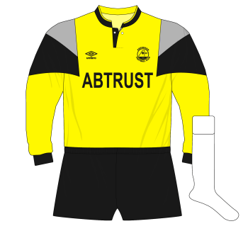 Aberdeen-1989-1991-Umbro-yellow-goalkeeper-shirt-Theo-Snelders