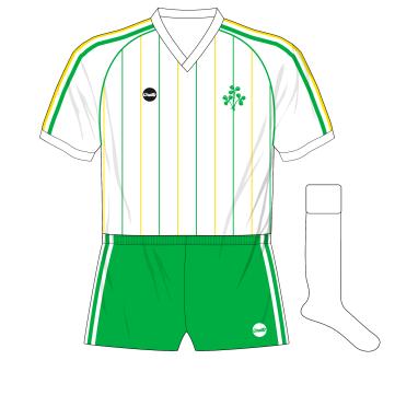 O'Neills-Republic-of-Ireland-1984-away-jersey-Denmark