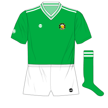 8e5789da8 Ireland s many kit changes in 1986 World Cup qualifying campaign ...