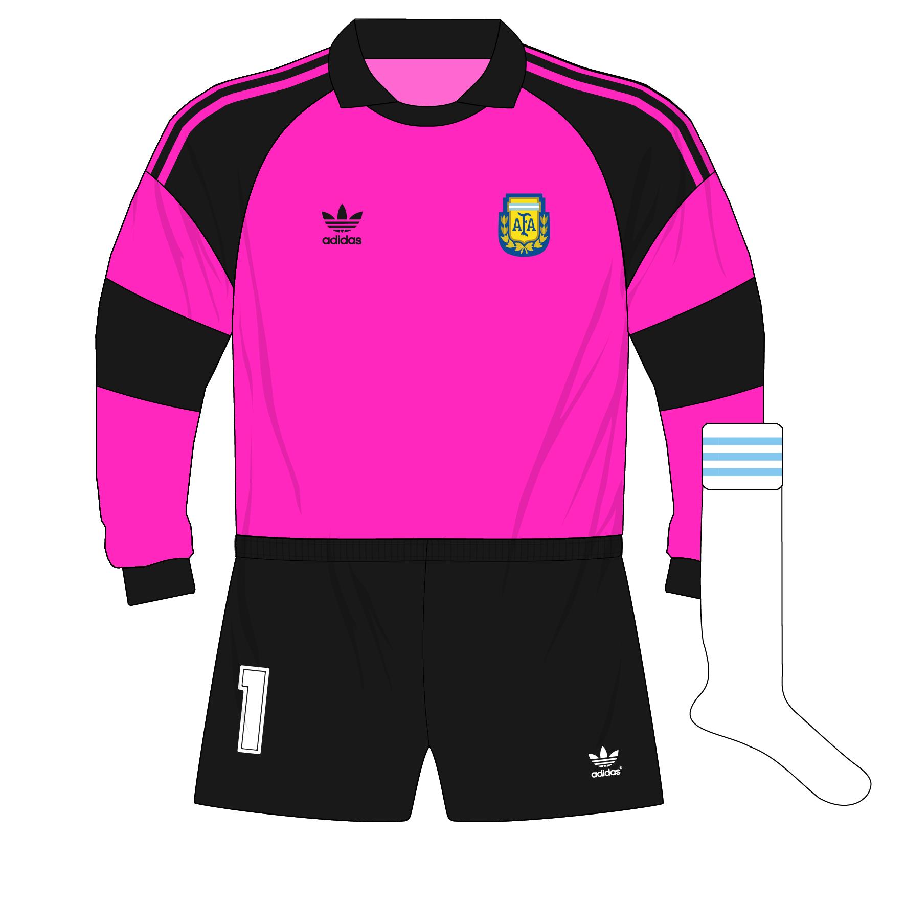 adidas-Argentina-portero-goalkeeper-camiseta-jersey-1991-Goycochea-pink