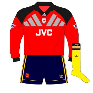 adidas-Arsenal-1992-alternative-red-goalkeeper-change-shirt-kit-Seaman-Blackburn-01