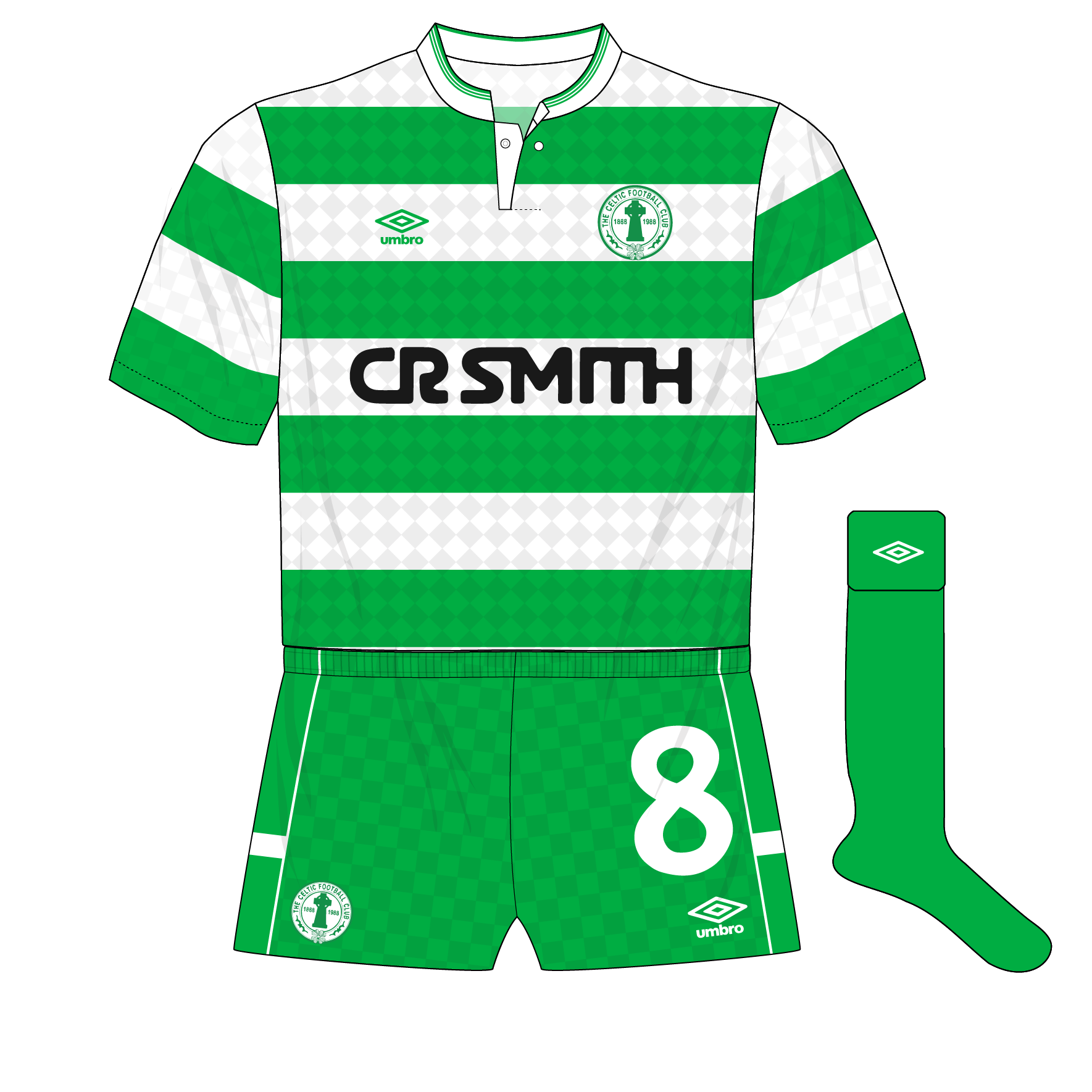 size 40 29812 755d6 Celtic, Hibernian and the overall clash – Museum of Jerseys