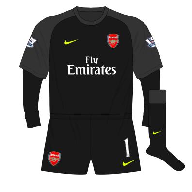 Arsenal-Nike-2013-2014-black-goalkeeper-shirt-kit-Szczesny-01
