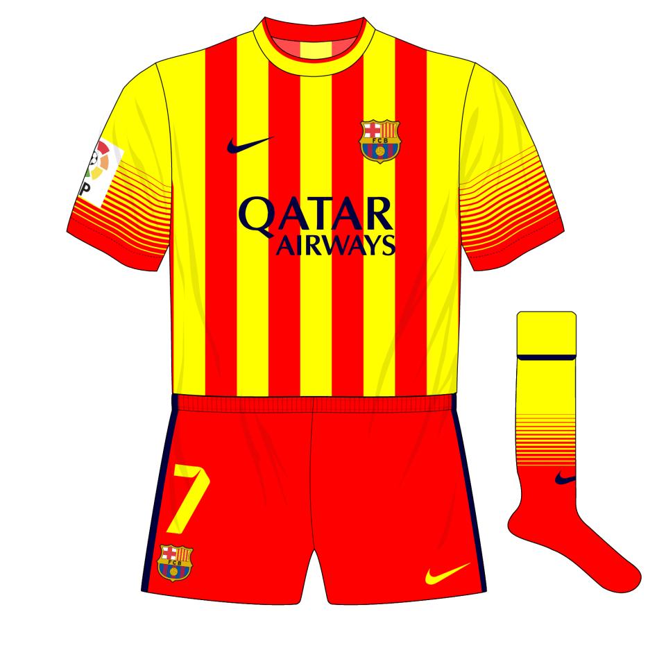 new concept 923a2 4faab Nike-Barcelona-2013-2014-away-kit-shirt-senyera-01 – Museum ...