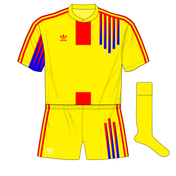 Romania-adidas-1991-home-Scotland