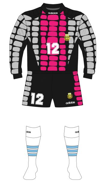 Argentina-1994-adidas-portero-camiesta-Luis-Islas-silver-pink-01