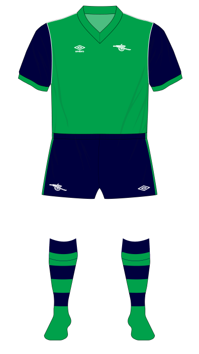 Arsenal-1982-1983-away-kit-green-Spartak-Moscow-01