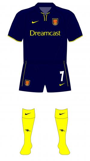 Arsenal-2000-2001-Nike-third-kit-Sparta-Prague-change-half-time-01