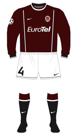 Sparta-Prague-2000-2001-Nike-home-kit-Arsenal-Highbury-01