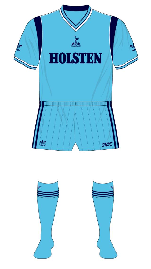 Tottenham 1984 Away Adidas Manchester United Fantasy Kit Friday 01 01 Museum Of Jerseys