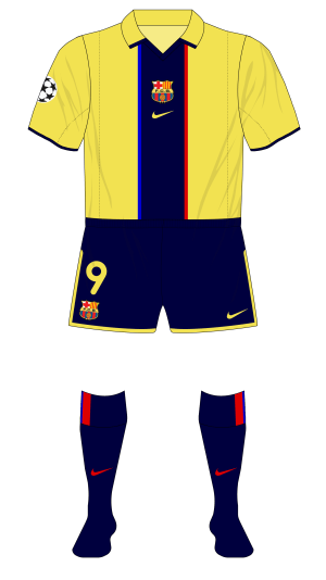 Barcelona-2001-2001-away-camiseta-navy-shorts-socks-Liverpool-01