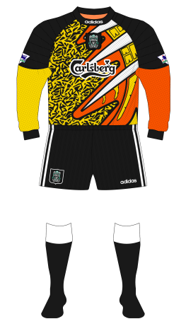 Liverpool-1995-1996-adidas-goalkeeper-shirt-yellow-orange-David-James-black-Carlsberg-01