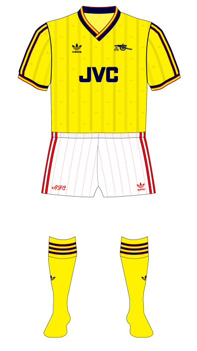 dece899a65a arsenal: the adidas years, part 1 – museum of jerseys