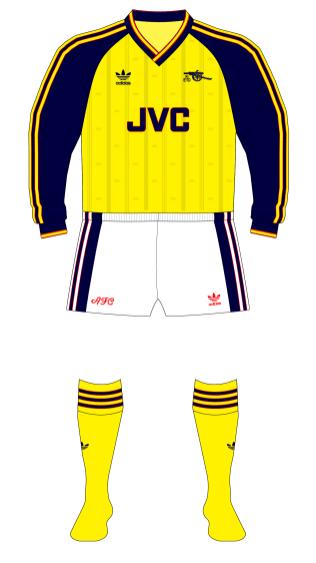 Arsenal-1988-1990-adidas-away-kit-white-shorts-Southampton-01