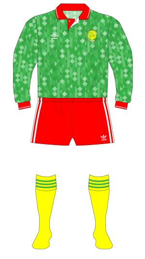 Cameroon-1991-Umbro-shirt-England-friendly-01