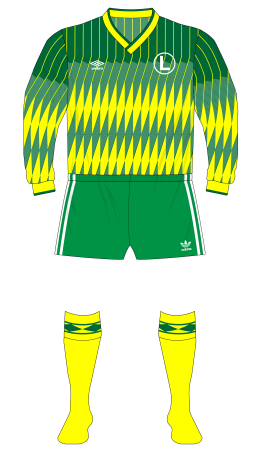 Legia-Warsaw-1991-Umbro-green-yellow-01