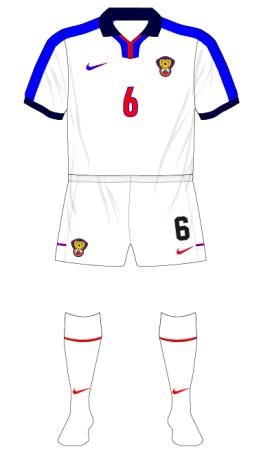 Russia-1999-Nike-home-kit-white-shorts-socks-France-01