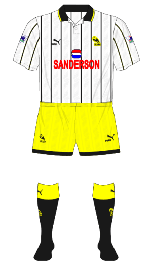 Sheffield-Wednesday-1993-1994-white-third-kit-Newcastle-Wimbledon-yellow-shorts-01