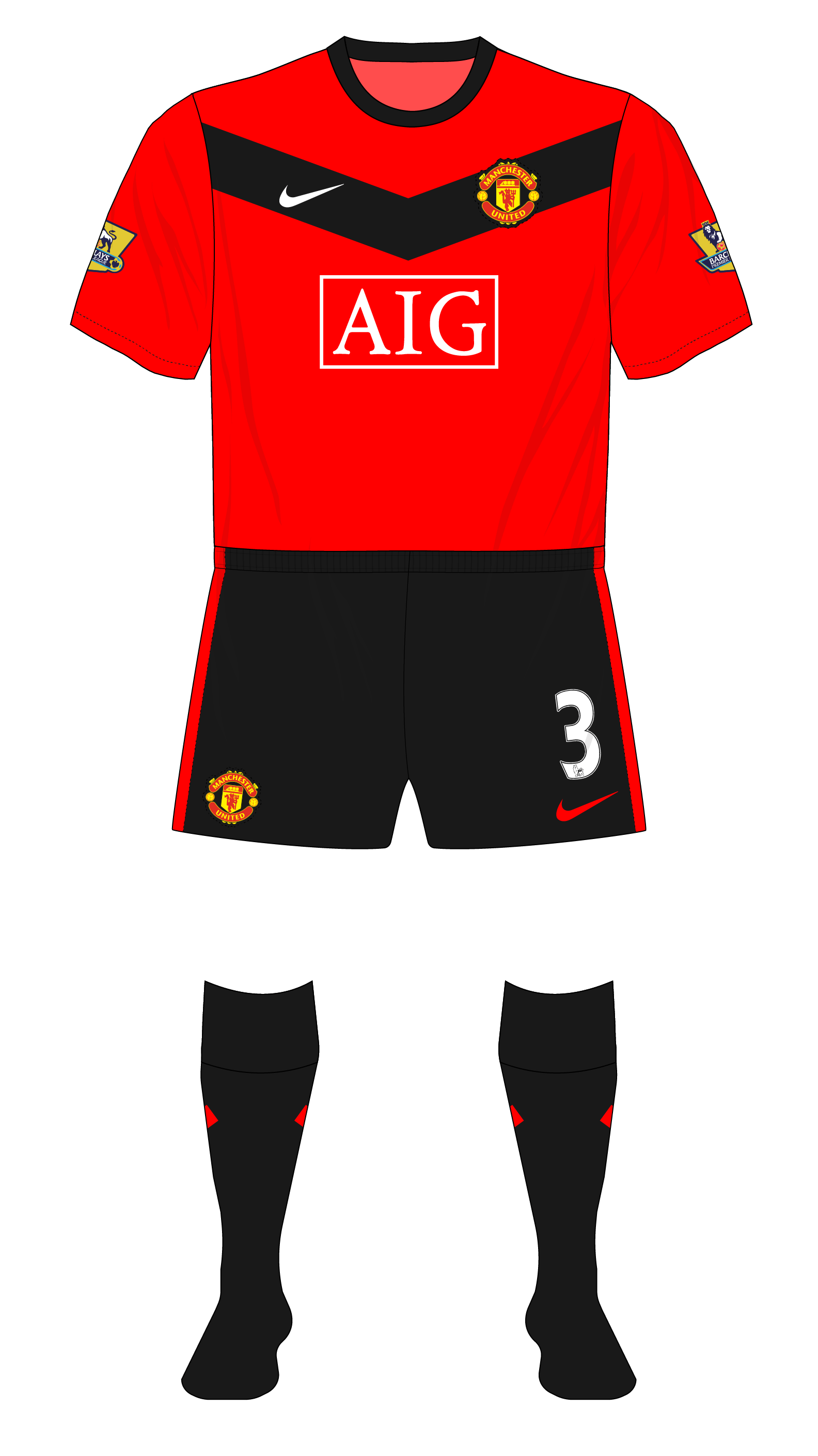 c9f6f0bade4 Season in kits – Manchester United