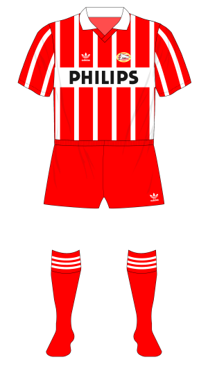 PSV-Eindhoven-1989-1990-adidas-home-stripes-red-shorts-socks-Vitesse-cup-final-01