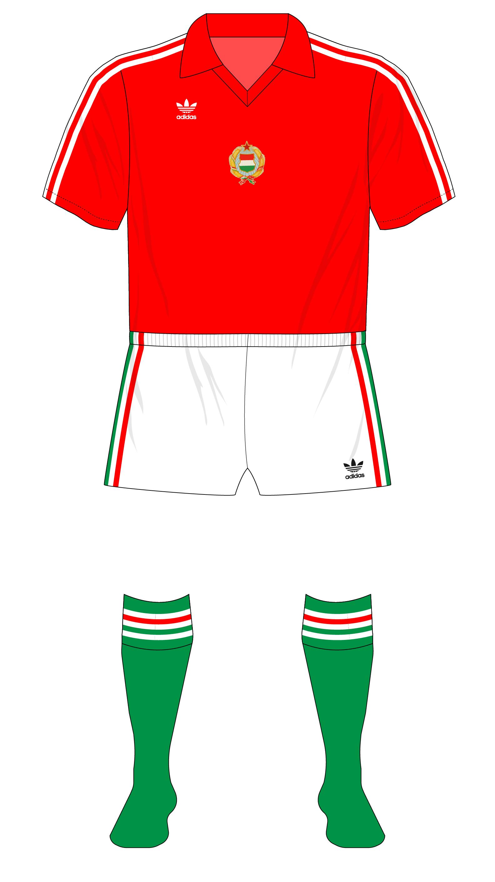 572e6e9074 Cold War Classics no.9 – Hungary vs England, 1981 – Museum of Jerseys