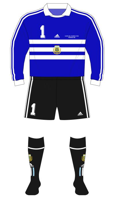 Argentina-1998-adidas-camiseta-portero-azul-Roa-01