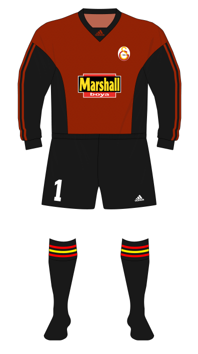 Galatasaray-1999-2000-adidas-goalkeeper-Taffarel-red-01