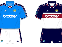 26f8bbf63 Season in kits – Manchester City, 1997-98