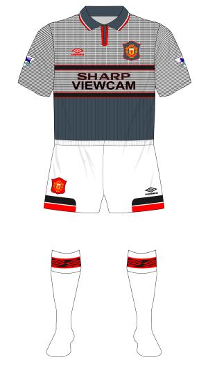 Manchester-United-1995-1996-Umbro-away-grey-white-shorts-socks-Southampton-01