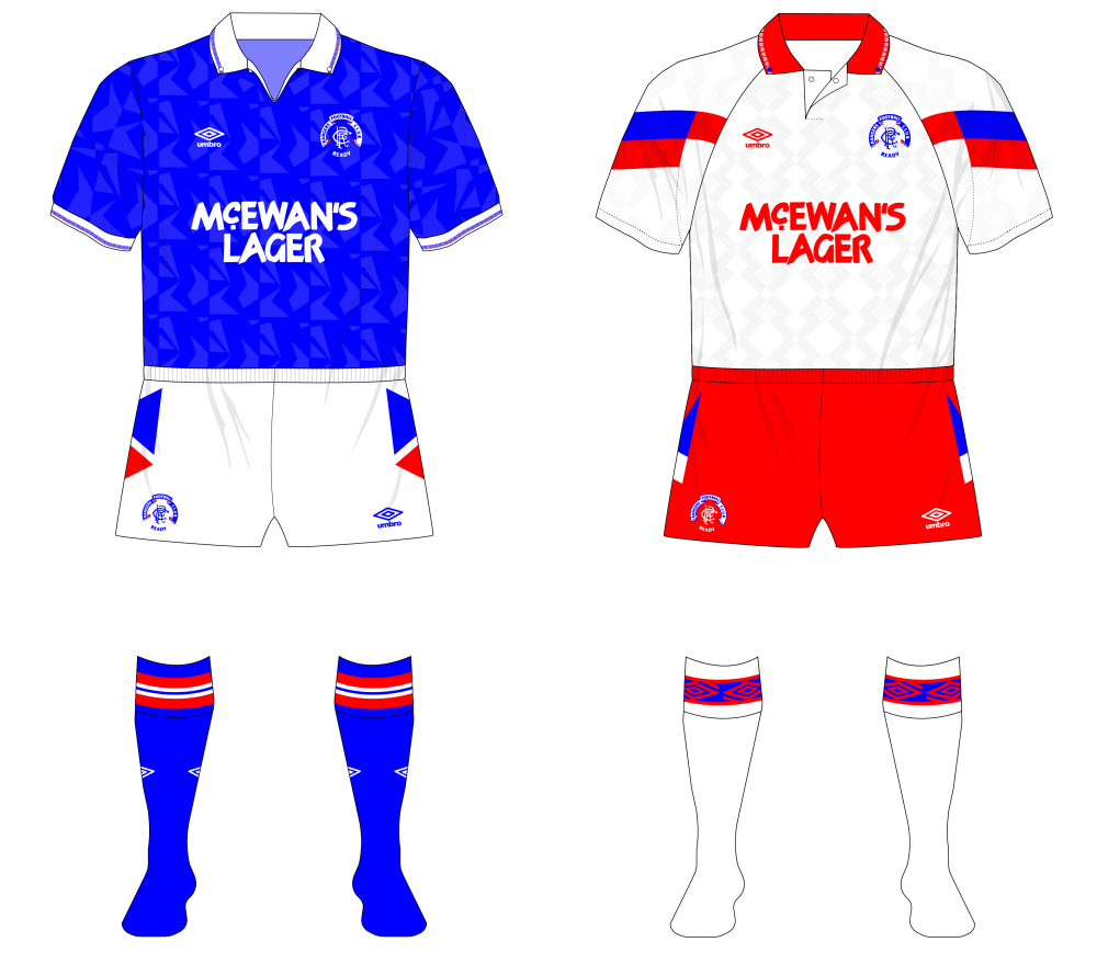 Fantasy Kit Friday - if Rangers stayed with Umbro in 1990