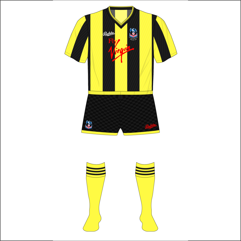 Crystal-Palace-1990-FA-Cup-final-replay-yellow-black-stripes